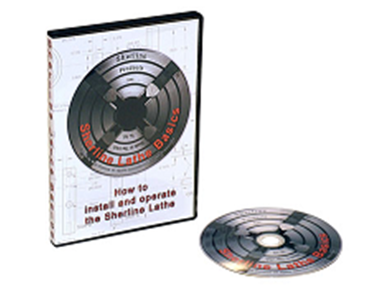 Sherline DVD Lathe Basics 5335 Sherline Lathe Basics—How to Set Up and Operate the Sherline Lathe 5335