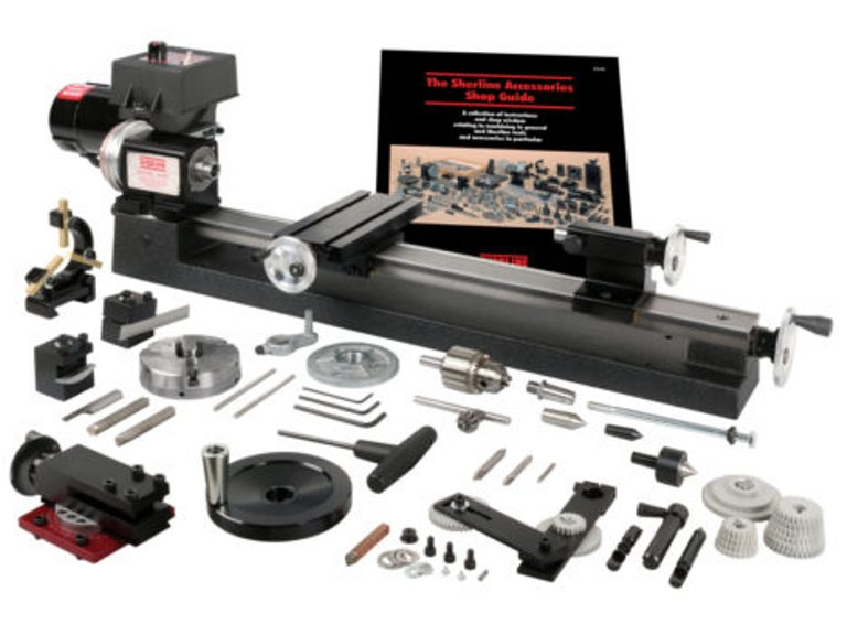 Sherline Lathes and Milling Machines - Mike's Tools
