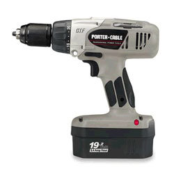 Porter Cable Cordless Drill 9984 Porter-Cable 19.2 Volt GRIP-TO-FIT