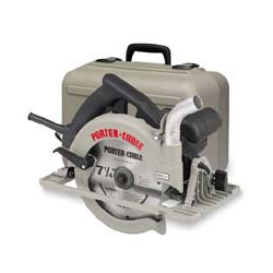 Porter cable 7 14 blade right circular saw kit mikes tools porter cable 7 14 blade right circular saw kit with electric brake greentooth Images