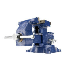 "Wilton 4500, Multi-Purpose Mechanics Vise - Swivel Base, 5-1/2"" Jaw Width, 6"" (9-3/4"" Reversed) Jaw Opening, 3-3/4"" Throat Depth 14500"