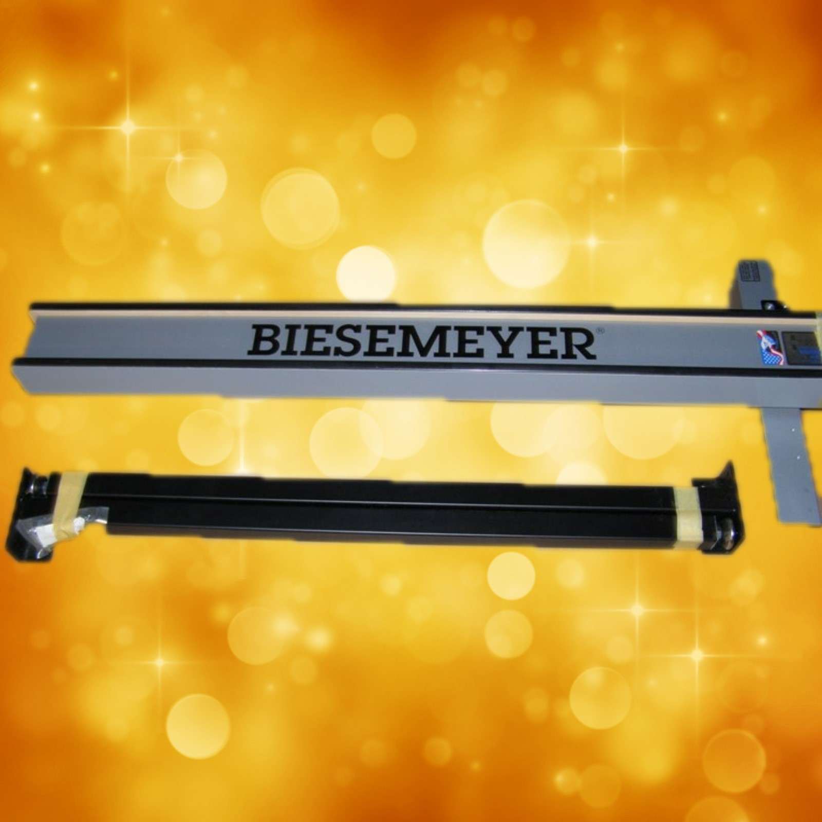 "Biesemeyer B78-972 42"" Platinum Commercial Table Saw Fence  w/one pair of legs, Black  Does not include Guideset or Hardware B78-972"