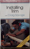 Installing Trim with Craig Savage (VHS) 060047