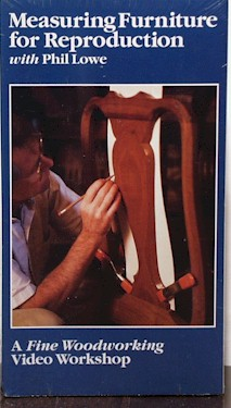 Measuring Furniture for Reproduction / Lowe  (VHS) 060095