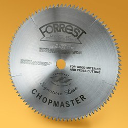 "Forrest 12"" ChopMaster Signature Line Saw Blade - 90 Teeth - Precision Trim Blade CM-12-90-5-115 CM-12-90-5-115"