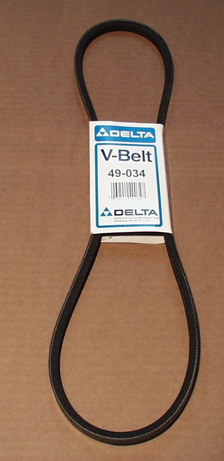 Delta Tool Part 49-034 Replacement Belt sub for 400-06-133-0001 and 643928 49-034