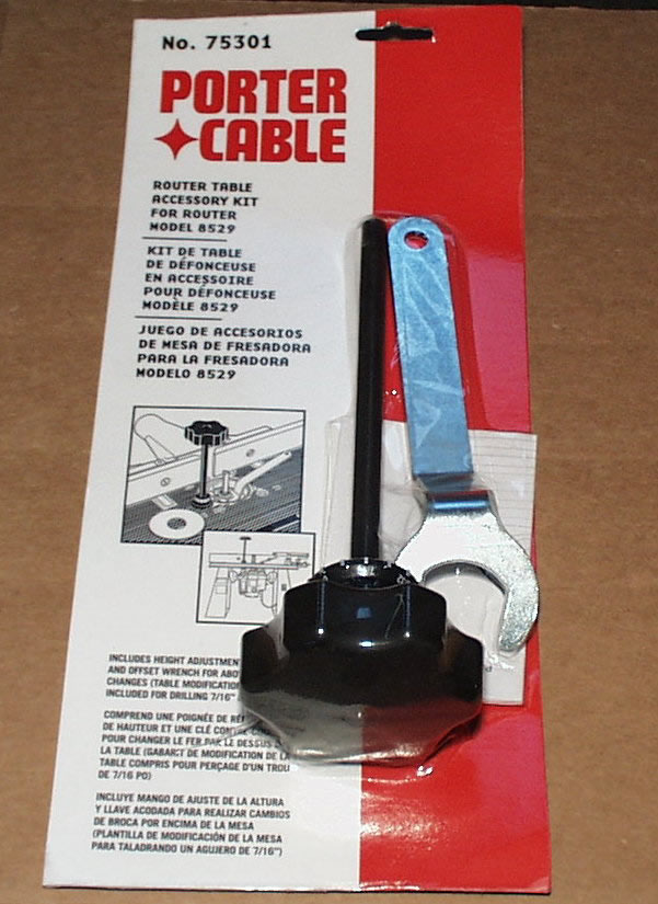 Porter Cable Router Table Height Adjuster 75301 Mike S Tools