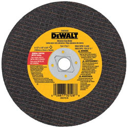 "DeWalt 7"" x 1/8"" Metal Abrasive Saw Blade XP Extended Performance DW8056"