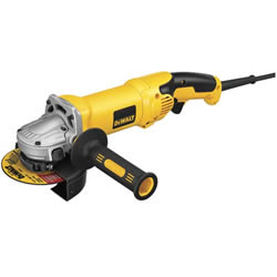 "DeWalt Heavy Duty 4-1/2"" / 5"" High Performance Grinder with Trigger Grip D28115"