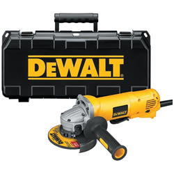 "D28402K DeWalt Heavy Duty 4-1/2"" Small Angle Grinder with Paddle Switch KIT D28402K"