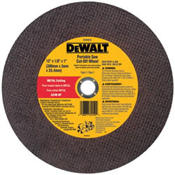 "DeWalt 14"" Portable Saw Wheel - 1"""
