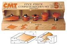 CMT 5-Piece Complete Kitchen Set - Profile C 800.511.11