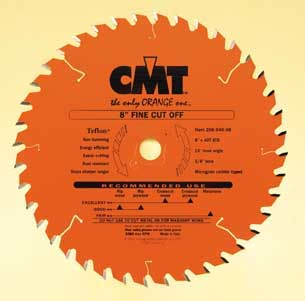 "CMT Fine Cut Off ATB Blade, 10"" diameter 205.060.10"