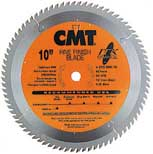 "CMT ITK Fine Finish Blade, 10"" diameter 255.080.10"