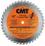 "CMT ITK General Purpose Miter Blade, 12"" diameter 251.045.12"