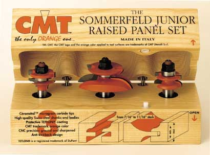 CMT Junior Raised Panel Set 800.518.11 CMT Junior Raised Panel Set 800.518.11