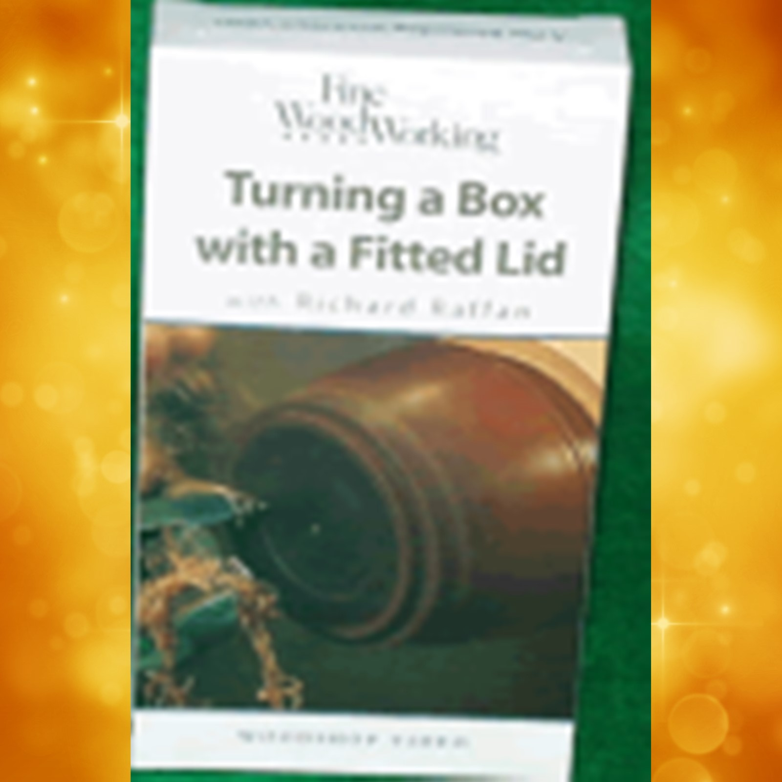 Turning a Box with a Fitted Lid with Richard Raffan (VHS)  014017