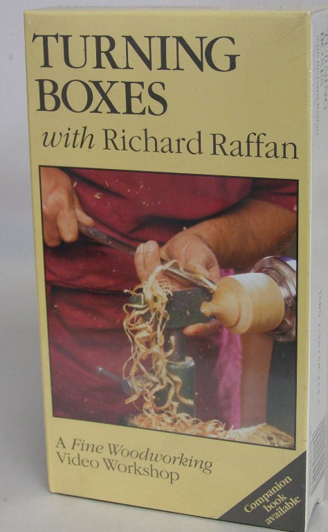 Turning Boxes with Richard Raffan  (VHS) 060113