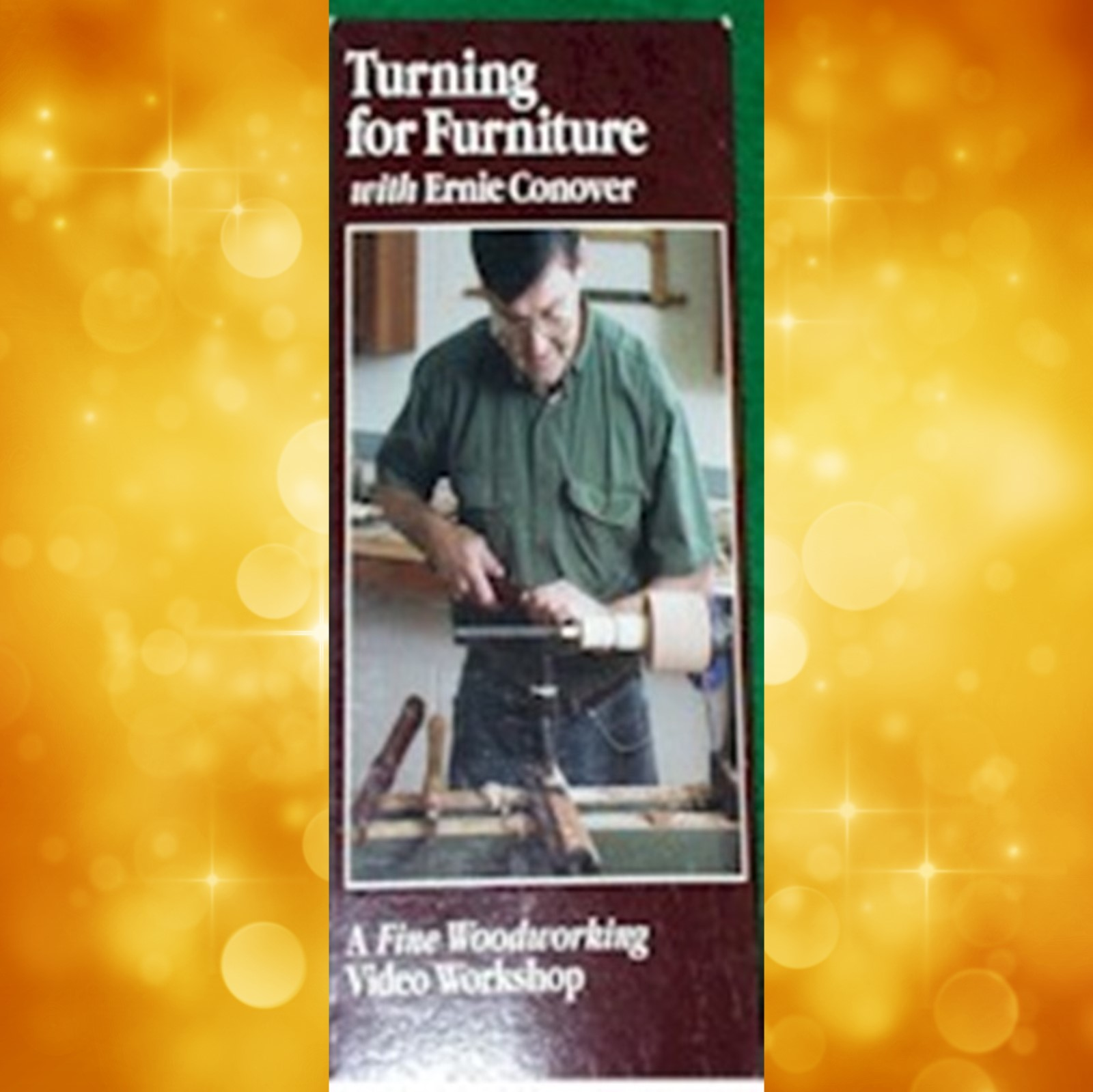 Turning for Furniture/ Conover  (VHS) 060107